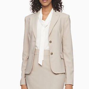 NEW Calvin Klein 2 Button Classic Blazer